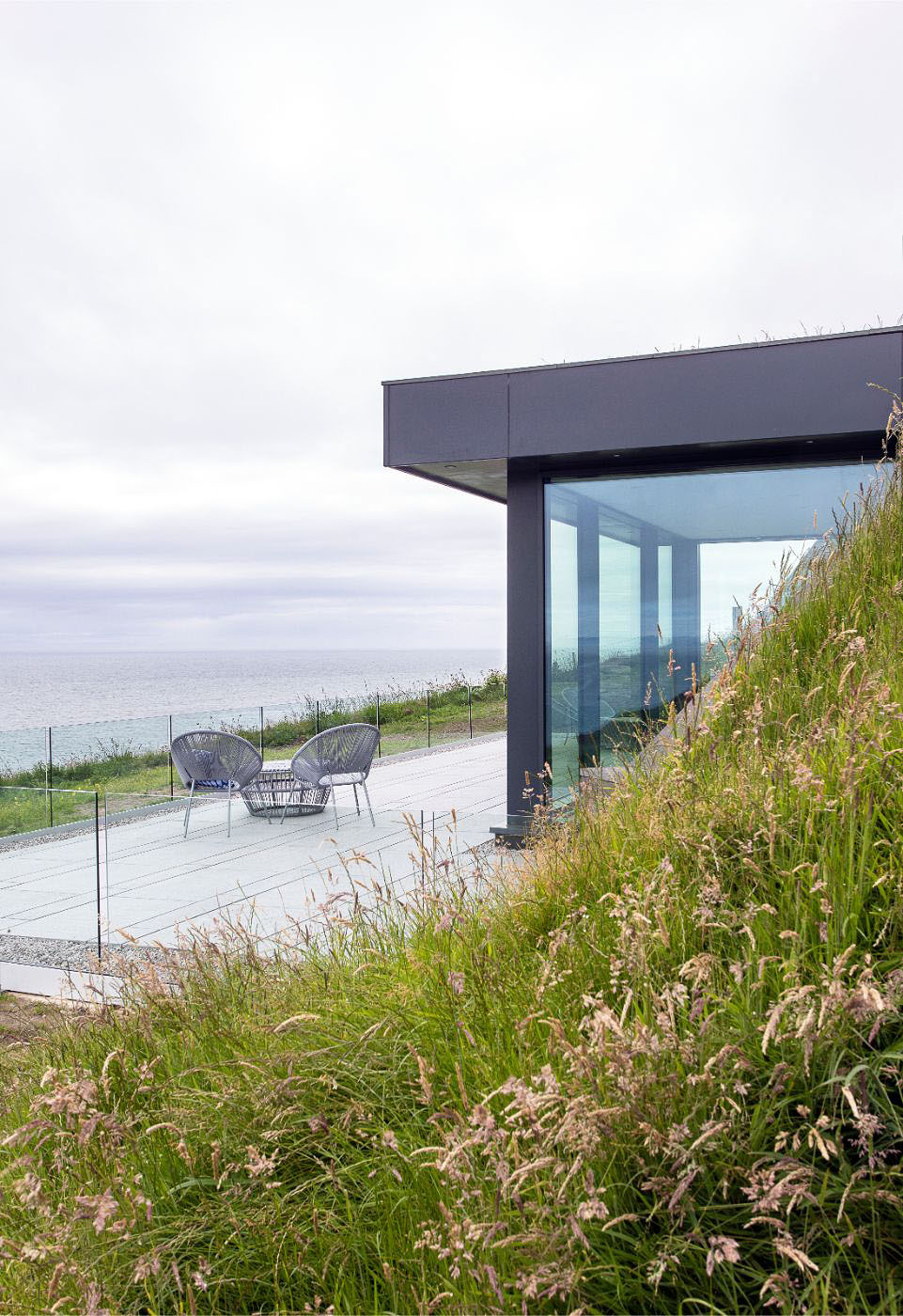 sub-terranean house