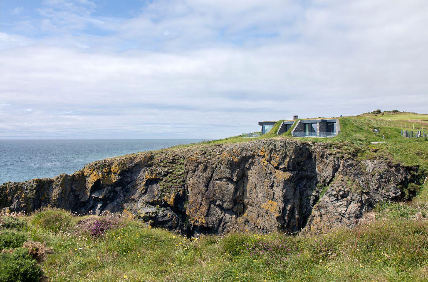 cliffs of Portpatrick, Scotland.