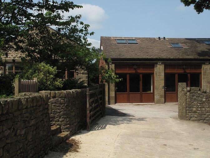 double garage extension